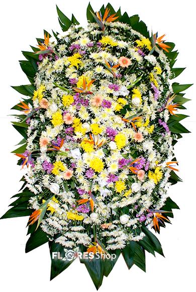 2107 Coroa de Flores Grande