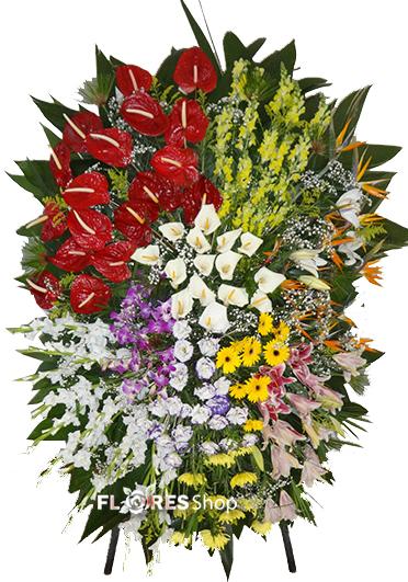 2110 Coroa mix de flores