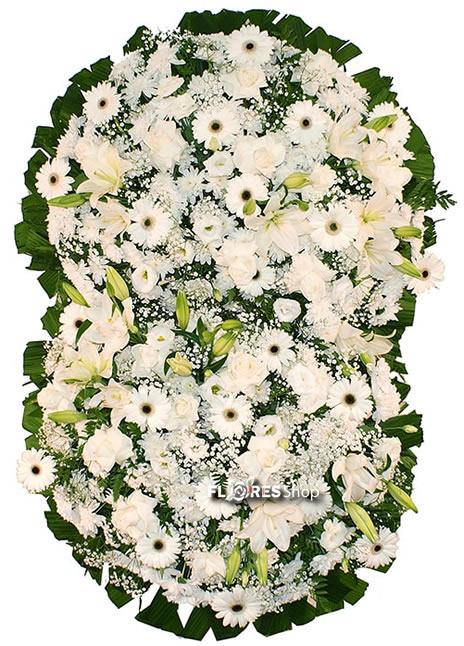 2141 Coroa de Flores Exuberante