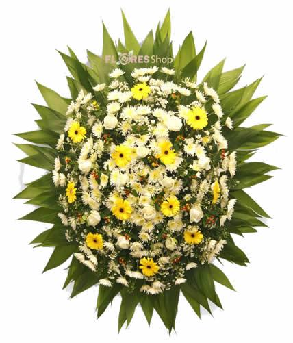 2546 Coroa Pequena de Flores do campo