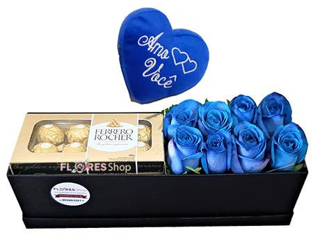 3191 Doçura Azul - Coração