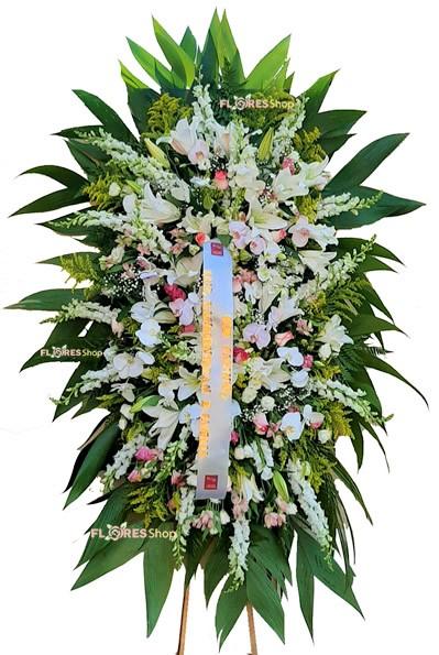5140 Coroa Com Flores Nobres