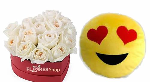 3299 Coração de Rosas In Box Smille