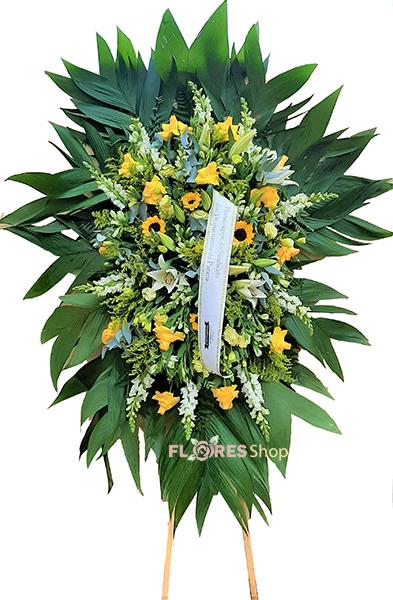 3519 Coroa Fúnebre Yellow