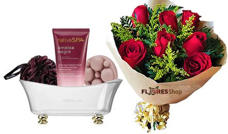 3881 Rosas vermelhas E Nativa Spa