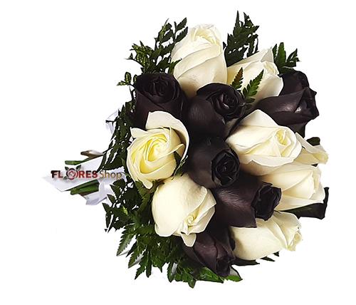 4547 Buquê de Noiva Black and White