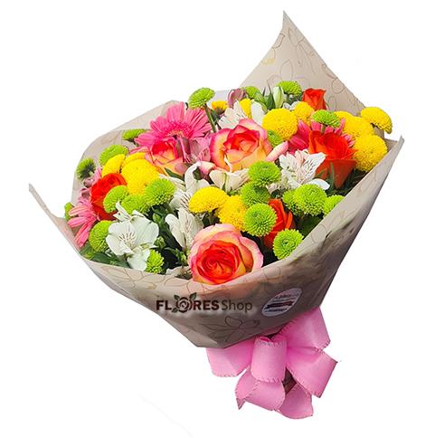 4595 Flores coloridas