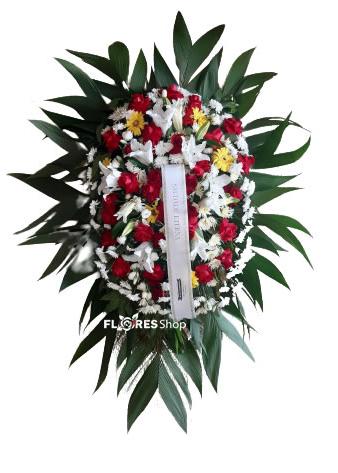 4662 Condolências de Lírios e Rosas