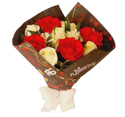 4775 Buquê com Rosas de chocolate Cacau Show