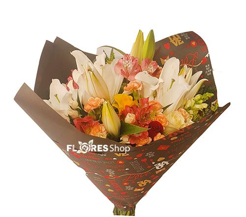 4849 Buquê com Flores mistas