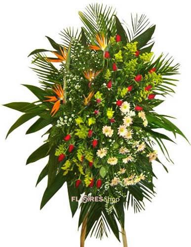 501 Coroa de Flor Mix
