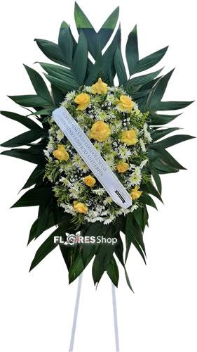 5082 Coroa com Flor Amarela