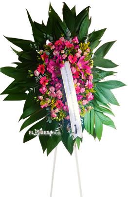 5086 Coroa com Flores Mistas