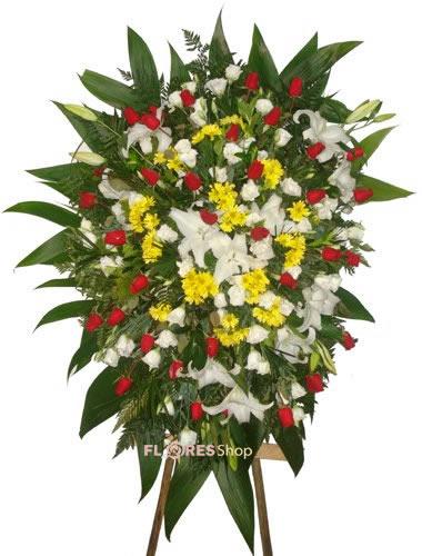 592 Coroa de Flores Jardim da Paz