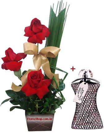 786 Glamour Secrets Black & Rosas Vermelhas